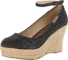 Bearpaw Womens Isla SandalBlack9 M US * Details can be found by clicking on the image.