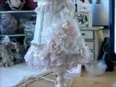 Shabbychic Lamp (Tresors de Luxe Design Team Project 3) - YouTube