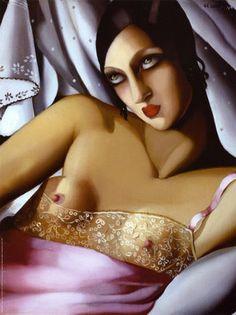 Tamara de Lempicka Art Deco 3