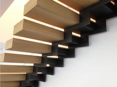 Floating Stairs Railing Stairways 44 Ideas For 2019 Interior Staircase, Stairs Architecture, Staircase Design, Architecture Details, Interior Architecture, Escalier Design, Balustrades, Stair Handrail, Railings