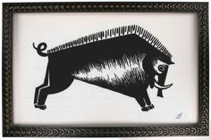 Fernando Boher Collection: Boar