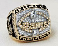 Super Bowl Ring —St. Louis Rams