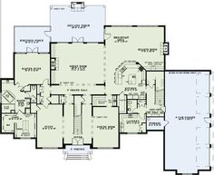 floorplan twostory first floor plan of european french country traditional house plan 82258 like the floor plan but not the look of the exterior