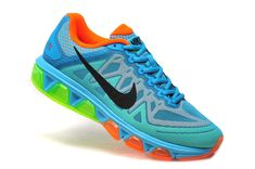 competitive price 6c0ab 02c6e Nike Air Max Tailwind 7 breathable sky blue orange green black s