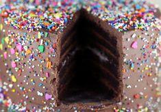 gateau au chocolat sprinkles crémeux
