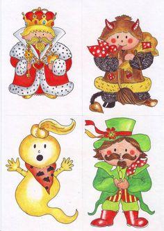 Pohádkové postavičky | ilustrace a obrázky (kliknutím přejdete na další položku galerie)
