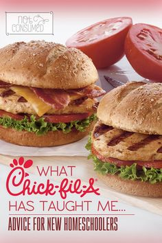 New to homeschooling? Need some encouragement? Fast food and homeschooling are an unlikely pair, but I found that Chick-fil-a's business model is actually exactly how a successful homeschool should run. What do you think?