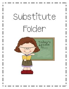 This packet includes 21 pages of printables for your sub folders.  Free today from Kreative in Kinder as part of the Teacher Appreciation Jackpot!