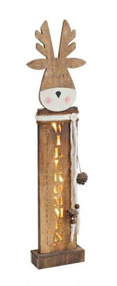 details zu teelichthalter kerzenst nder kerzenhalter elch holz weihnachtsdeko weihnachten. Black Bedroom Furniture Sets. Home Design Ideas