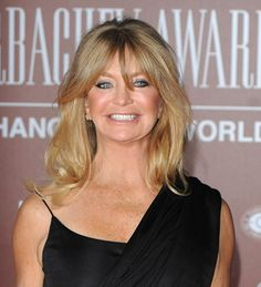 "Goldie Jeanne Hawn. American actress, film director, producer, and occasional singer. International attention was garnered as one of the regular cast members on Rowan & Martin's Laugh-In. On the show, she would often break out into high-pitched giggles in the middle of a joke, and deliver a polished performance a moment after. Noted equally for her chipper attitude as for her bikini and painted body, Hawn personified something of a 1960s ""It"" girl. Cousin through birthfather's maternal…"