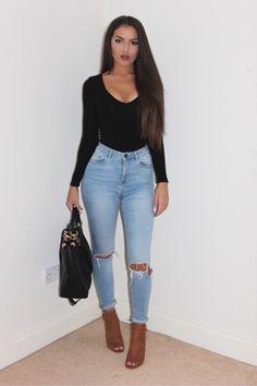 Styling Ripped Jeans   whateverjulieta