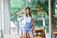 cute and overalls