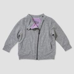 Afton Street Toddler Girls French Terry Hoodie A Line Dress Heather Gray Size 4T