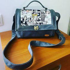Séverine Greene sur Instagram: Une belle commande, un beau sac parfait pour sa propriétaire.... Un Quadrille de Sacôtin, look un peu rétro, personnalisable à souhait…