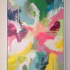 Sydney artist #kateclarkson @kateclarkson34 #abstractart