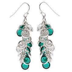 Tutorial - How to: Emerald Spirals Earrings | Beadaholique