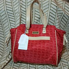 "Jessica Simpson tote 19"" tote.  Interior has padded compartment for laptop or tablet. Jessica Simpson  Bags Totes"