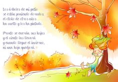 Mi Mundo Infantil: POESÍA DEL OTOÑO Kids Writing, Writing Activities, Preschool Activities, Online Stories, Spanish Songs, Weather Unit, Rhymes Songs, Teaching Skills, Spanish Culture