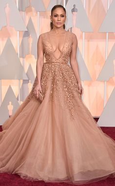 Jennifer Lopez Reveals Her Favorite Red Carpet Dress of All Time (Hint: It's Not the One You're Thinking)  Jennifer Lopez, Academy Awards 2015