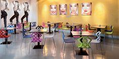ZAHIRA - Chaise coque fantaisie - Design Stefano SANDONA - ALMA Design