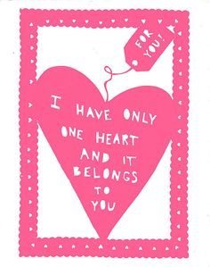 valentine paper cut art by lisa.loo77, via Flickr