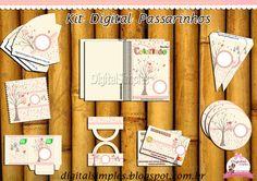 Kit Digital Passarinhos