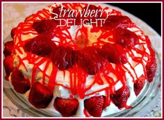 Sweet Tea and Cornbread: Strawberry Delight!