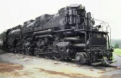 Chesapeake & Ohio class H-8 LIMA built Allegheny 2-6-6-6 articulated steam locomotive # 1604.