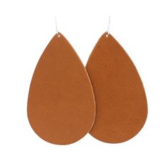 i love these simple leather earrings. they are hand-made and so affordable.