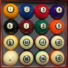 Pool Balls Cool Pool Tables Com Home Of Southern Billiards Inc