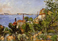 Paysage, étude d'après nature, Paul Cezanne, 1876