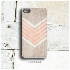 iPhone 5C Case Coral Wood Print iPhone 5s Case by HelloDelicious, $19.00