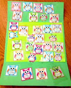 How to Make an Owl Lapbook Birthday Card (Free Owl Label Templates Included)