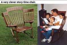 A story-time chair...