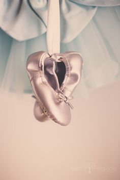 Baby Ballerina Baby Slippers and Tutu Pastels by HelenMPhotography, $35.00