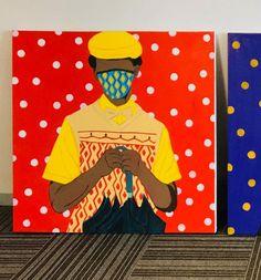 Shakes Tembani: The Gentleman: fine art | StateoftheART Gentleman, Fine Art, Painting, Gentleman Style, Painting Art, Paintings, Visual Arts, Painted Canvas, Drawings