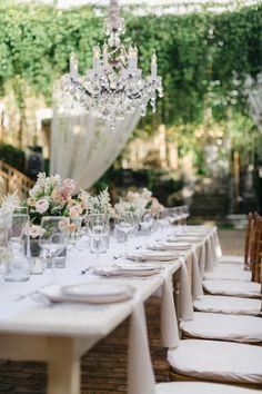 Photography: Jana Williams Photography - jana-williams.com Floral Design: Teresa Sena Designs - teresasena.com   Read More on SMP: http://www.stylemepretty.com/destination-weddings/2015/01/29/vintage-elegance-at-haiku-mill/