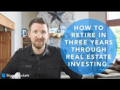 How to Retire in Three Years Through Real Estate Investing - YouTube    ........................................................ Please save this pin... ........................................................... Because For Real Estate Investing... Visit Now!  http://www.OwnItLand.com