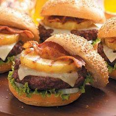 100 Ways To Prepare Hamburger | Hamburger Recipes : Aloha Burgers