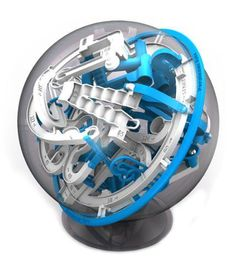 Perplexus Epic. Move the steel ball through many traps...
