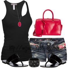 Red and black summer lbv