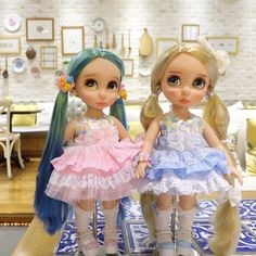 Doll clothes for Disney animator dolls 16. por RabbitinthemoonThai