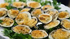 Baked clams oreganata are a must-have for a traditional Italian Feast of the Seven Fishes, which is celebrated on Christmas Eve.
