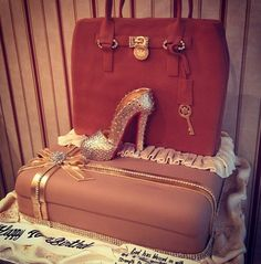 MK and LB cake. This would be my perfect cake!!!!