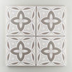 Our Malta handpainted tiles in neutral motif make for a soft, clean and classic fireplace surround. This intricate pattern works wonders in a single row of tiles or as an extended surround for your fireplace.