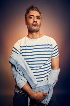 Taika Waititi poses for a portrait at the 2019 SXSW Film Festival Portrait Studio on March 8, 2019 in Austin, Texas. (Photo by Robby Klein/Contour by Getty Images)