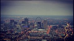 Rivers of traffic flow into #STL via  SkyFOX helicopter