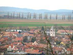 Vue sur Schwindratzheim