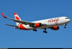 C-GHPE | Boeing 767-33A(ER) | Air Canada Rouge | JetPhotos
