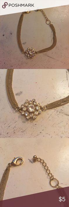 Flower small bracelet Small bracelet never worn Jewelry Bracelets